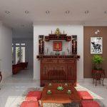 Lưu ý những vị trí đặt bàn thờ, tủ thờ trong nhà chung cư