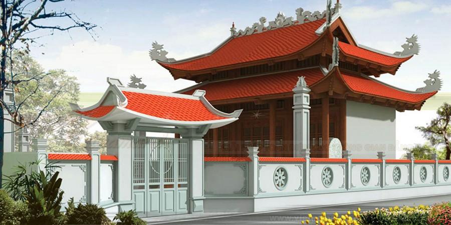 Xây dựng kiến trúc truyền thống