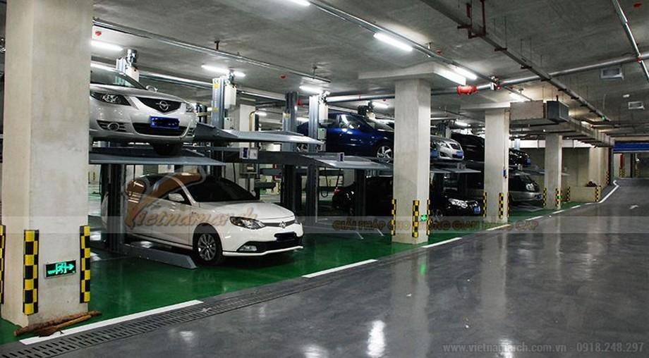 Bãi đỗ xe tự động Trung Yên Plaza