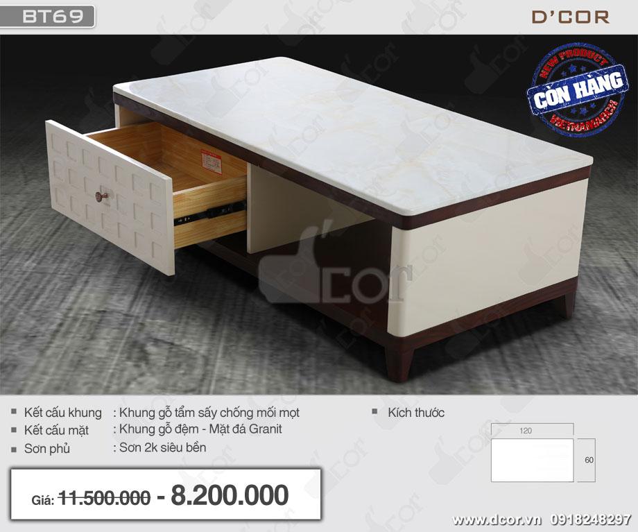 các mẫu bàn sofa đẹp