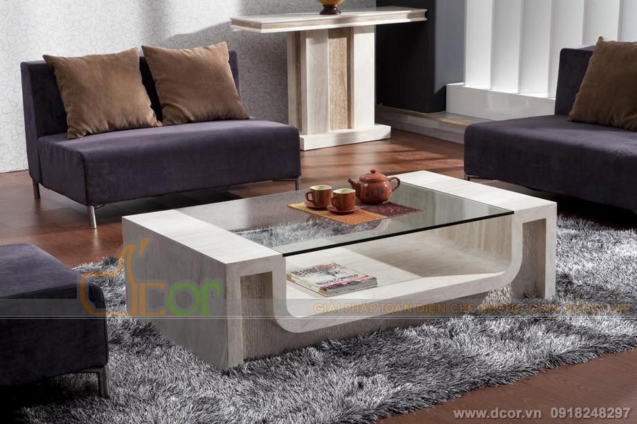 các mẫu bàn sofa mặt kính đẹp