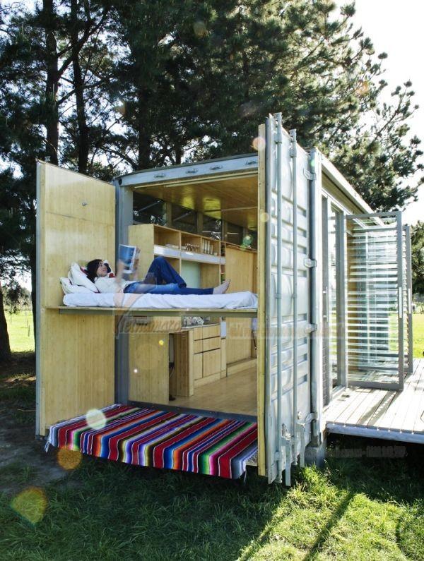 Chiêm ngưỡng nội thất bên trong nhà container