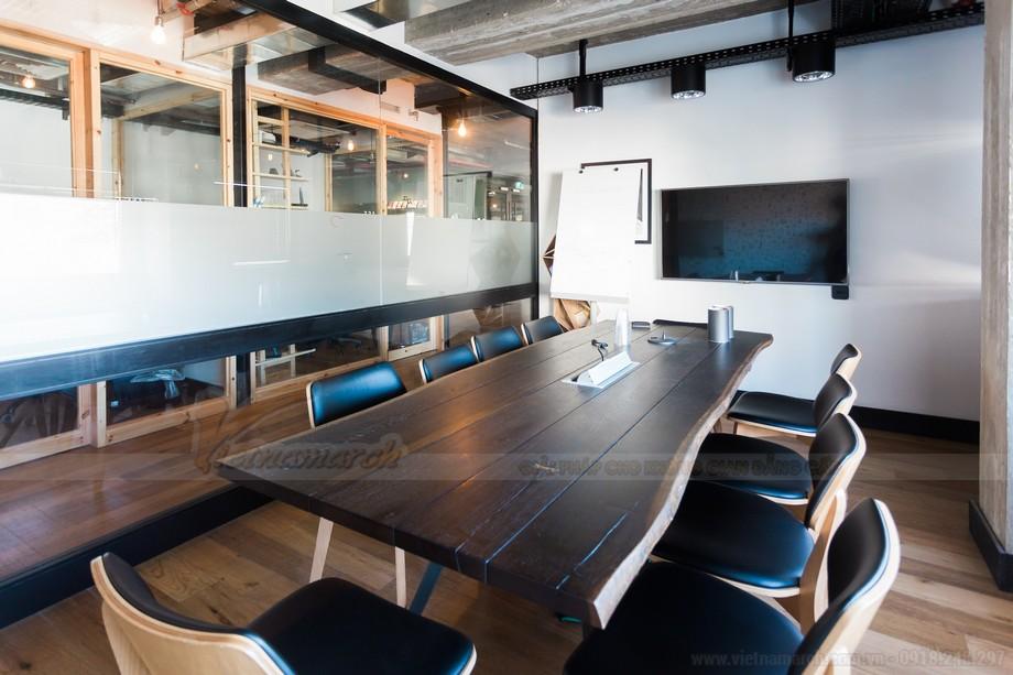Phòng họp của coworking space khép kín bảo mật