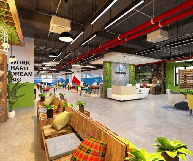 coworking space Lê Văn Lương