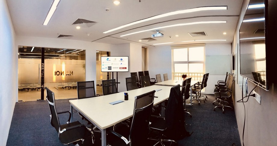 Thiết kế văn phòng trong không gian cowoking sapce tại Mỹ Đình