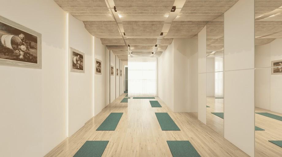 Coworking Space Mỹ Đình phòng yoga