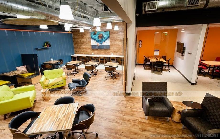 Không gian làm việc coworking space luôn được sạch sẽ
