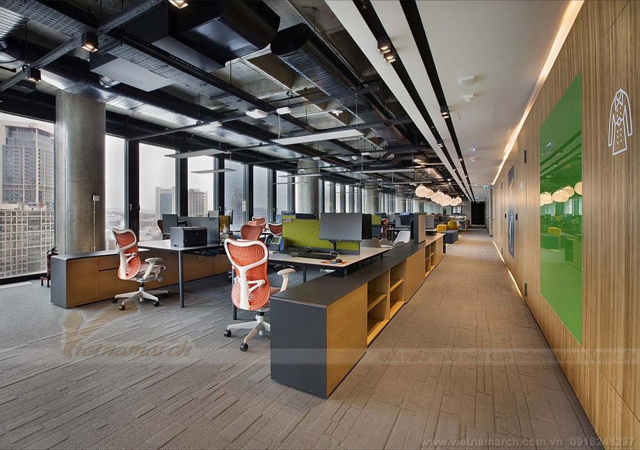 Tổng quan dự án cowoking space BAT đẹp hiện đại với nội thất sáng tạo