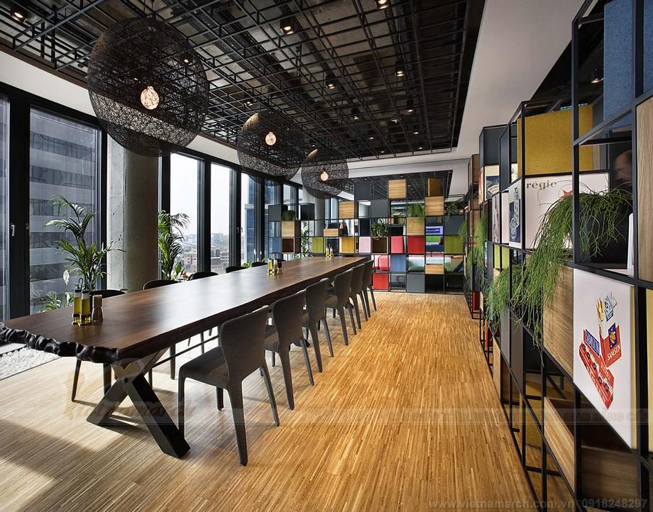 Khu vực phòng họp coworking sapce