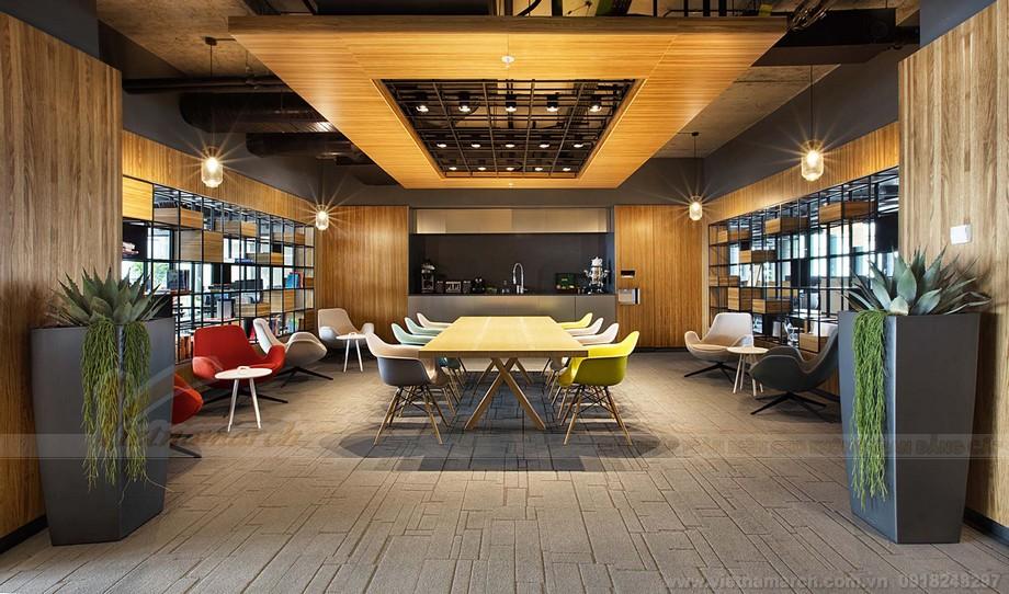 Khu vực thư giãn trong không gian văn phòng co-working space