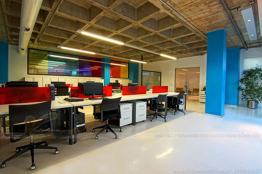 Thiết kê không gian làm việc hiệu quả và sang trọng trong coworking space