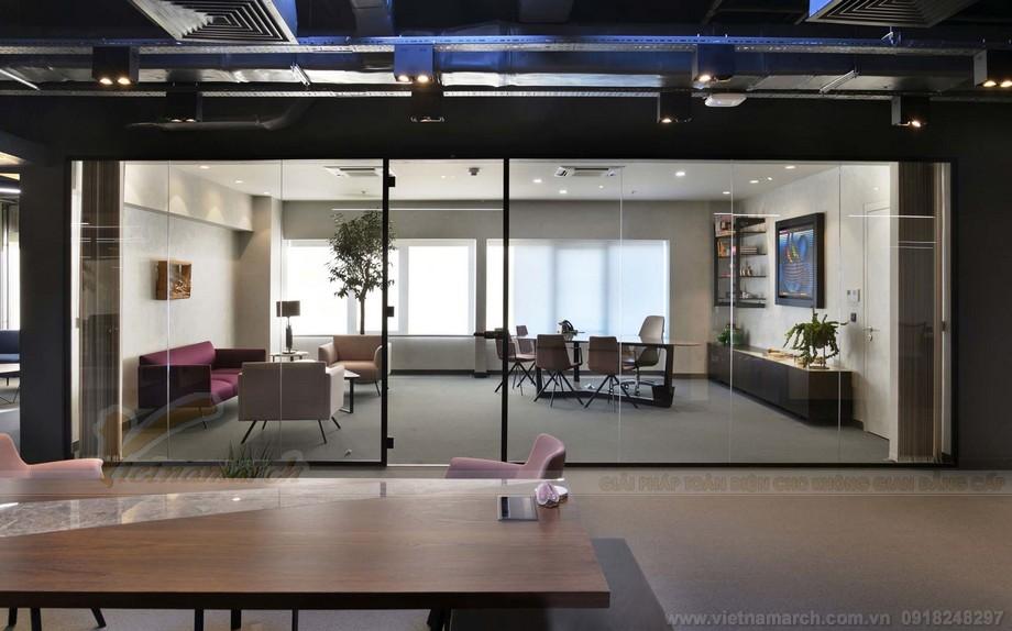 Thiết kế khu vực tiếp khách trong văn phònge