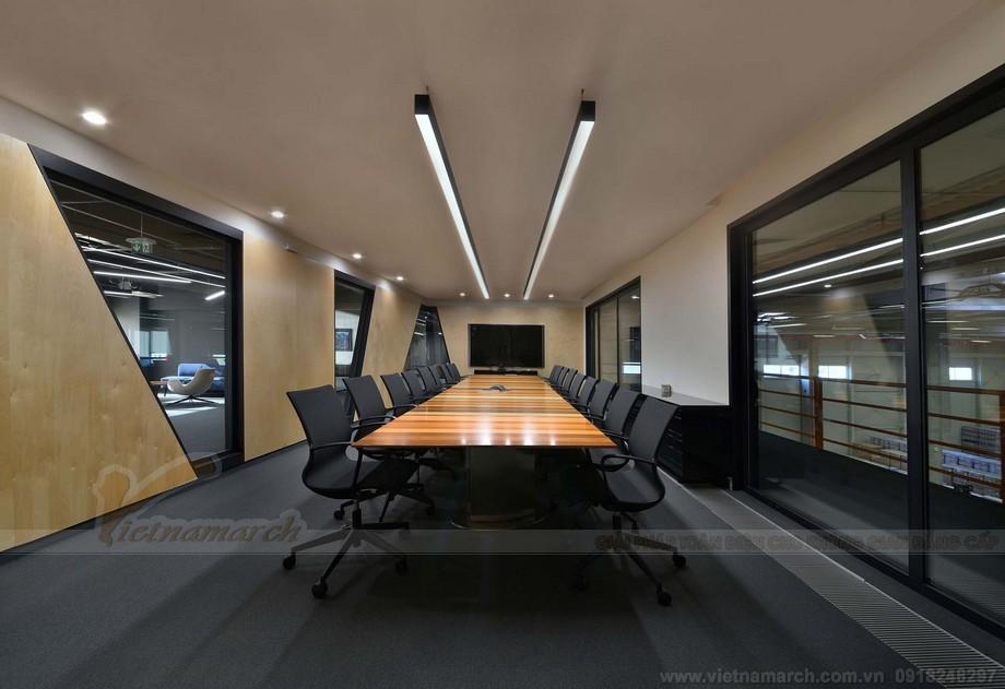 Phòng họp là khâu thiết kế cực kỳ cần thiết trong thiết kế văn phòng.