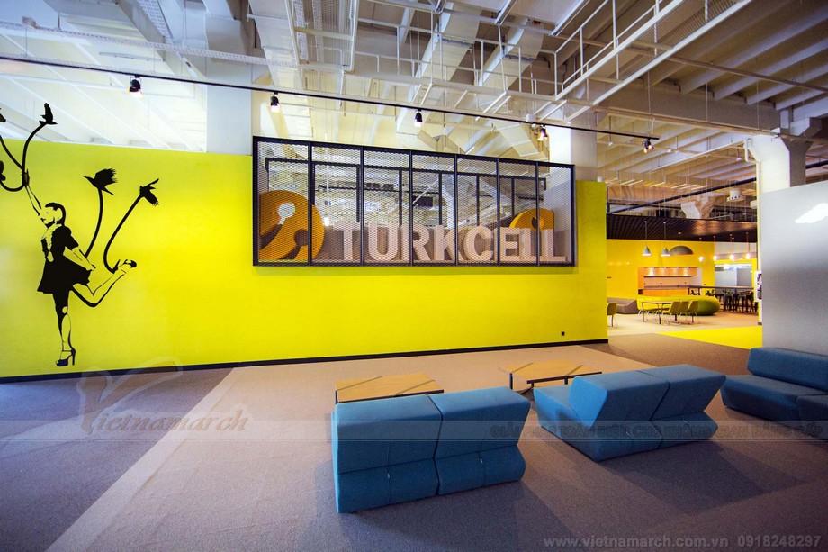 Thiết kế màu sắc coworking space đầy chủ ý