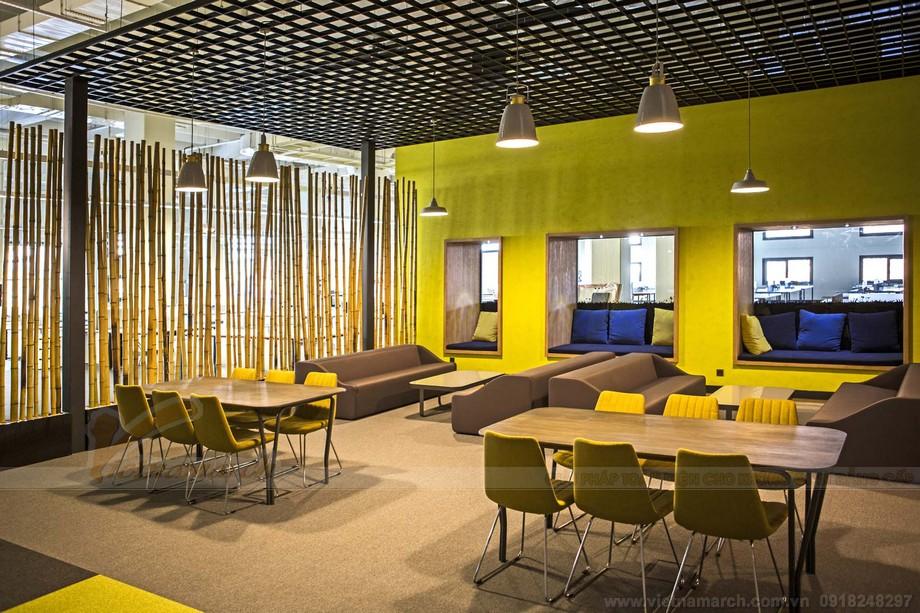 Thiết kế nội thất văn phòng hiện đại trong co working space
