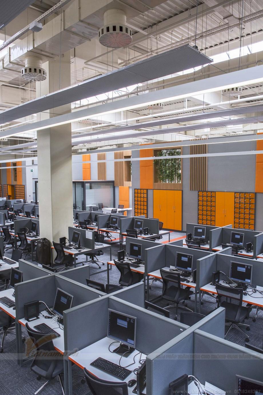 Thiết kế nội thất hiện đại trong co working space