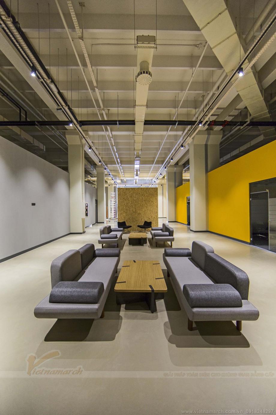 Góc riêng tư trong thiết kế văn phòng đẹp