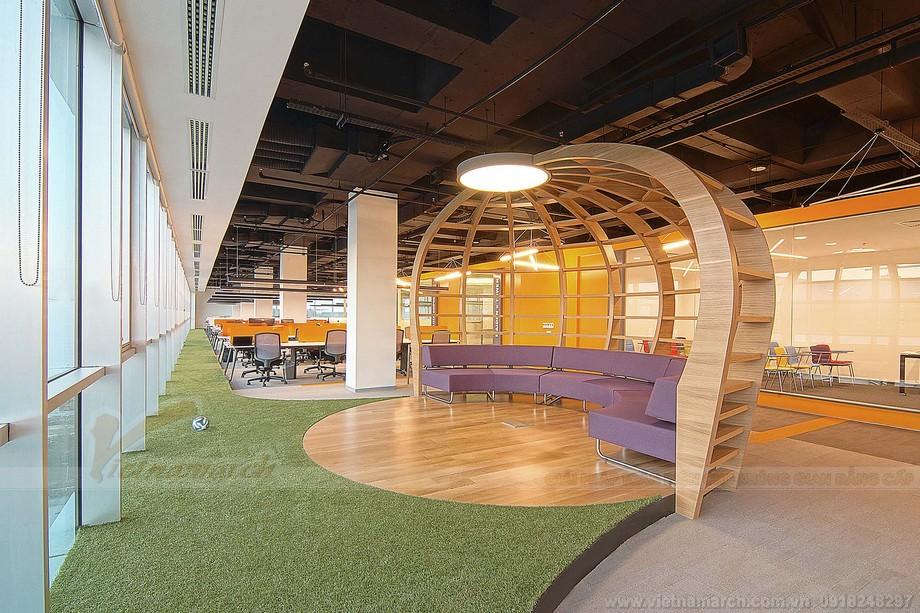 Thiết kế khu vực giải trí coworking space độc đáo và đầu tư lớn