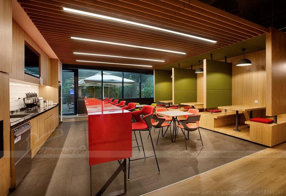 Khu vực thư giãn giải trí trong coworking space- Một thiết kế văn phòng hiện đại