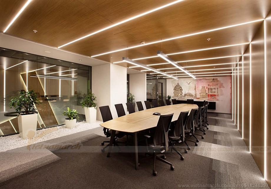 Thiết kế khu vực phòng họp trong văn phòng coworking space