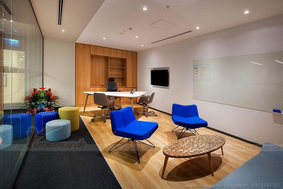Thiết kế nội thất các khu vực văn phòng khác trong coworking space