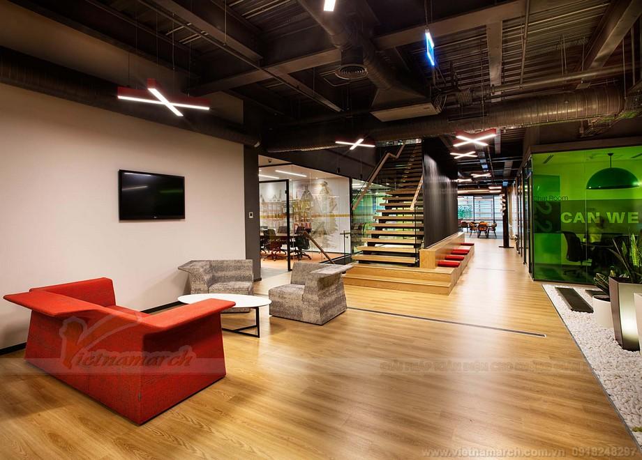 Dự án thiết kế nội thất văn phòng hiện đại