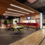 Thiết kế văn phòng coworking space ngập tràn màu sắc đẹp như quán cafe chuẩn xu hướng 2019