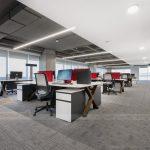 Dự án thiết kế văn phòng chia sẻ coworking space hiện đại, ấn tượng