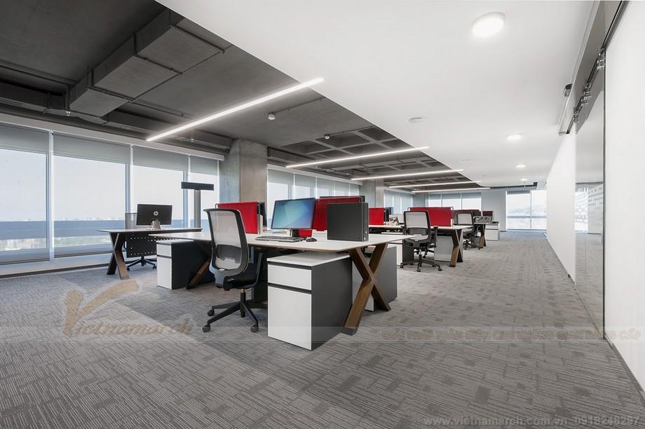 Thiết kế nội thất văn phòng chia sẻ coworking space ấn tượng
