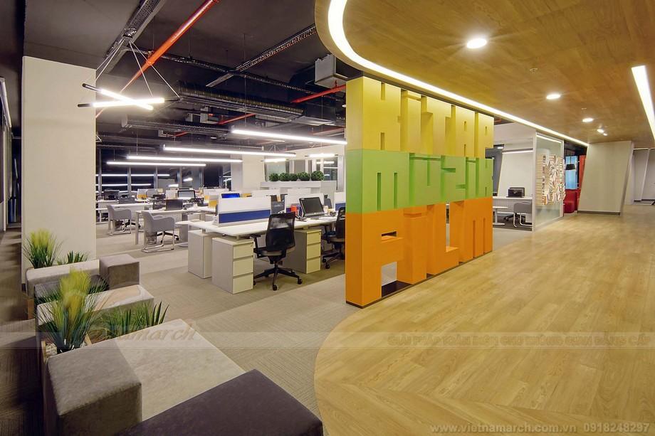Thiết kế văn phòng làm việc coworking space