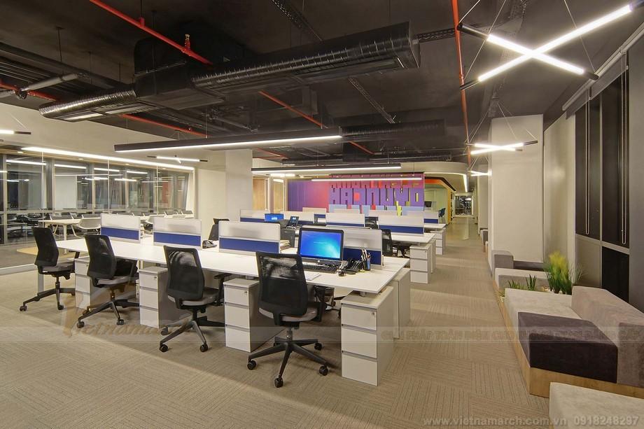 Mẫu bàn ghế đẹp trong thiết kế văn phòng làm việc
