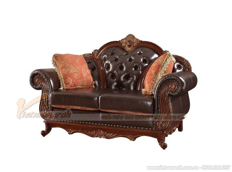 Sofa da thật 100% là một trong những loại Sofa cao cấp nhất