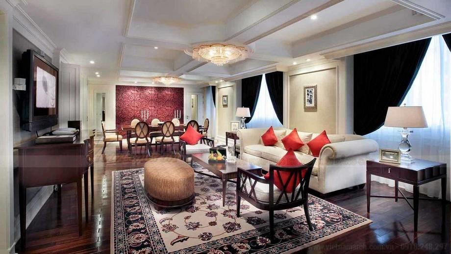 Phòng khách của phòng tổng thống