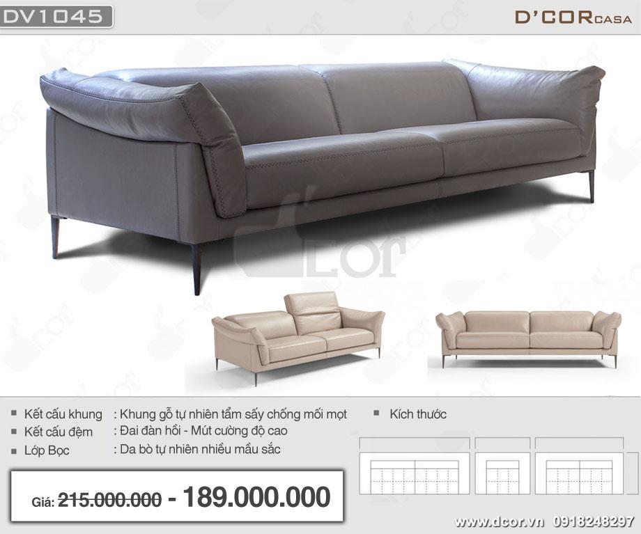 sofa da nhập khẩu Ý