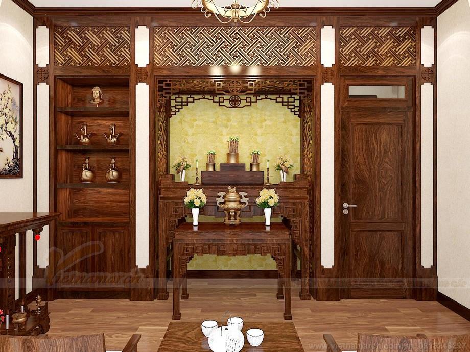mẫu giấy dán tường đẹp cho phòng thờ