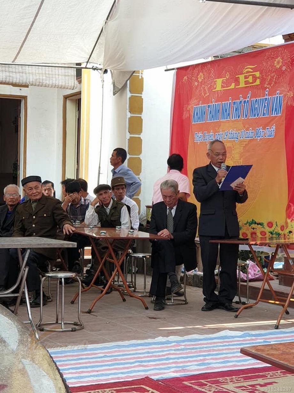 Khánh  thành nhà thờ họ Nguyễn Văn tại Phúc Thọ Hà Nội