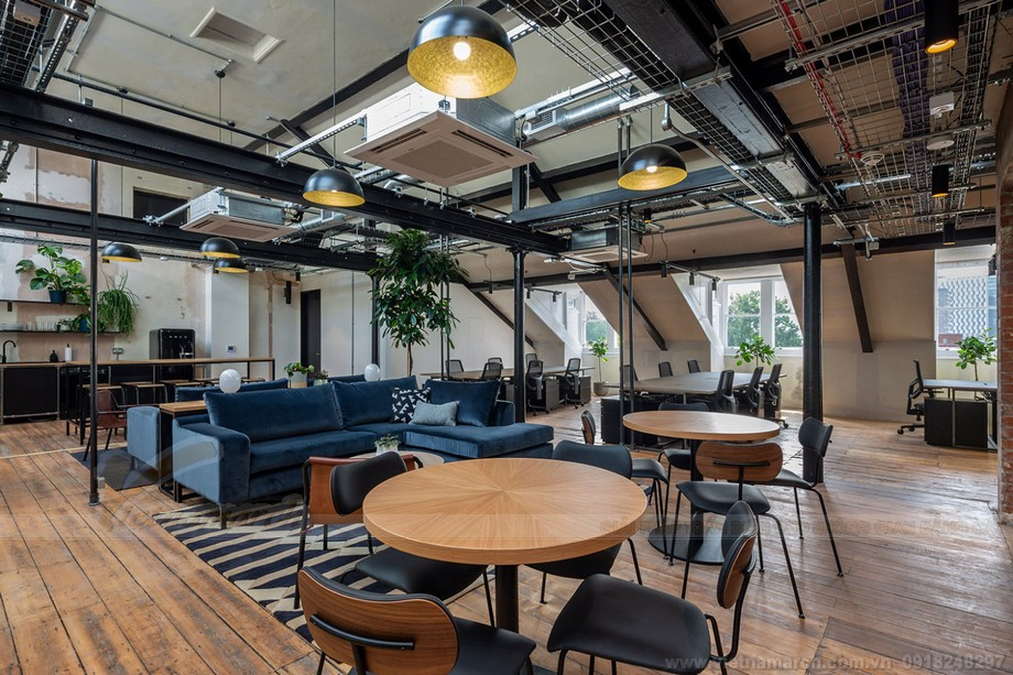 Coworking space mang tênThe Ministry, Southwark