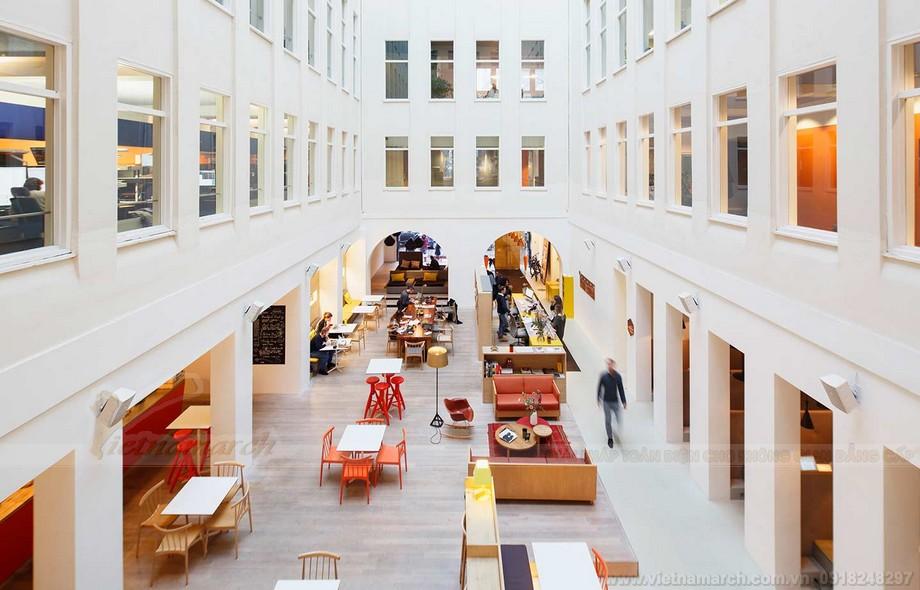 Mô hình coworking space dùng tiếp thị marketing hiệu quả