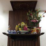 Mua bàn thờ treo tường có tấm chắn chống ám khói ở đâu Hà Nội giá rẻ đẹp?