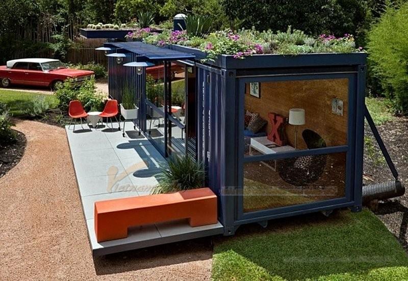 Nhà container – độc đáo, tiện ích