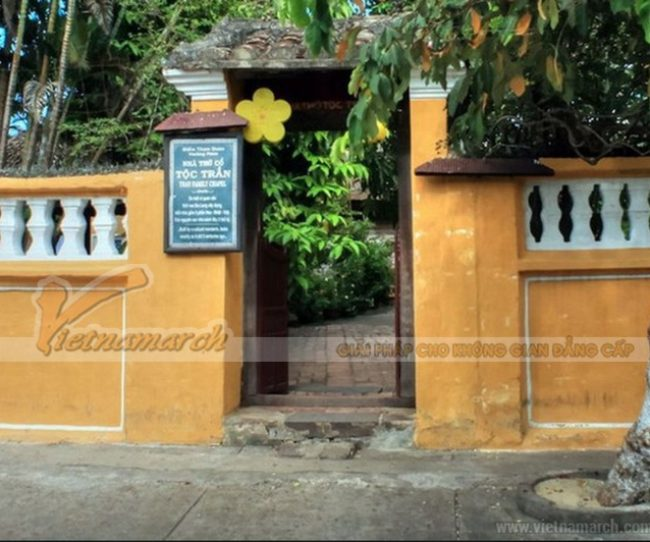 Nhà thờ họ Trần ở Hội An