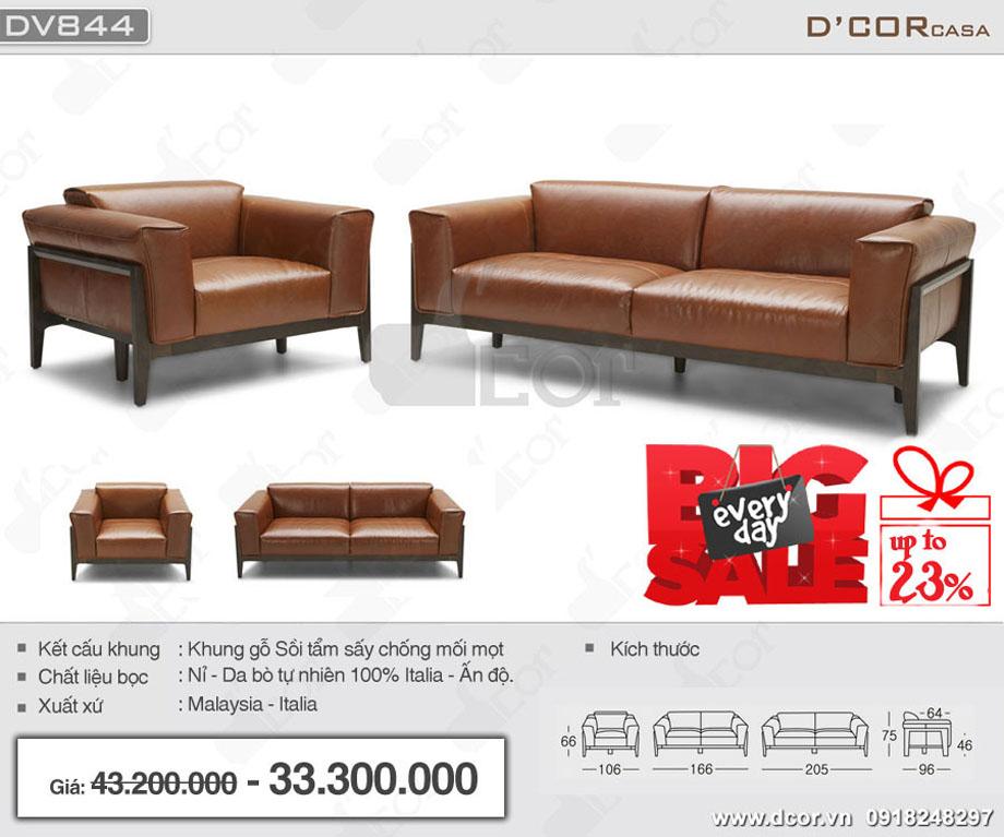 Sofa gỗ nhập khẩu phòng khách