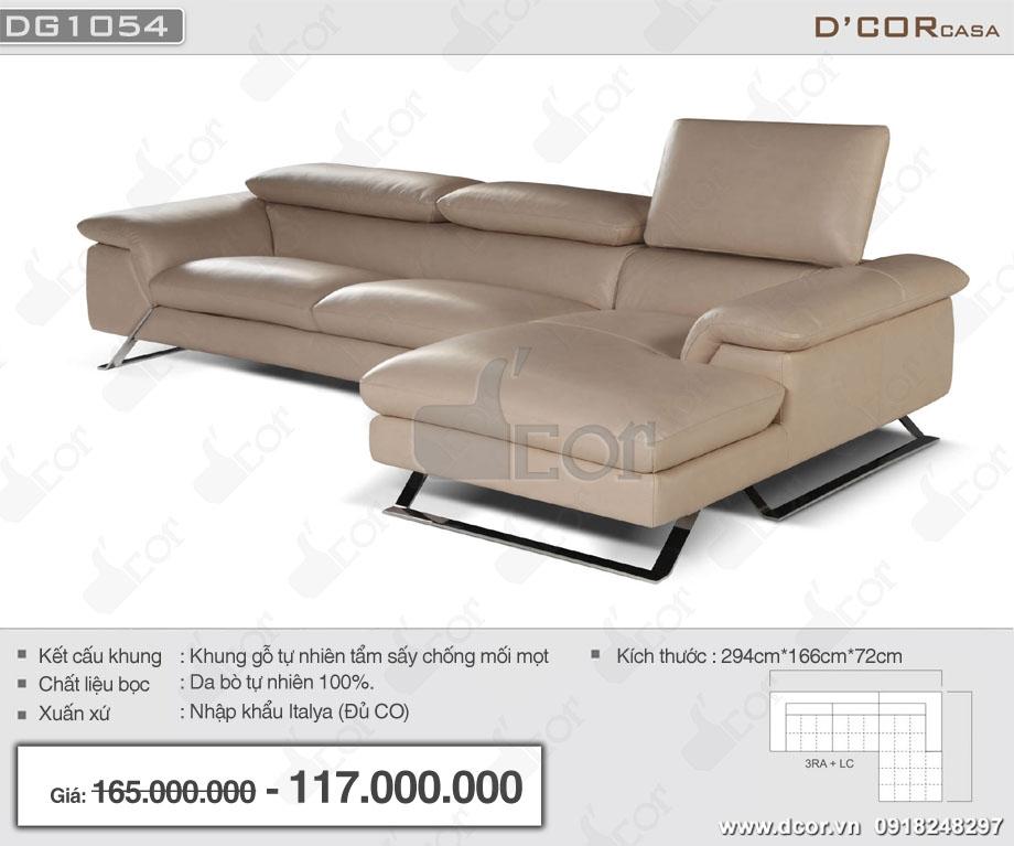 Sofa góc nhập khẩu Ý