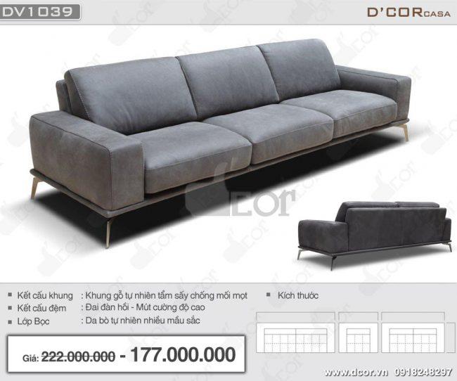 Sofa nhập khẩu phòng khách