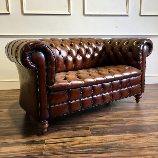 Ghế sofa văng da bò