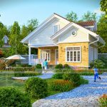 5 Mẫu biệt thự nhà vườn đẹp và ấn tượng nhất