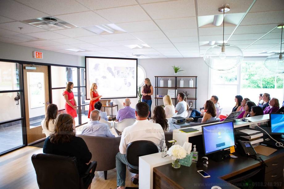 Coworking space cho doanh nghiệp thuê với mục đích tiếp thị
