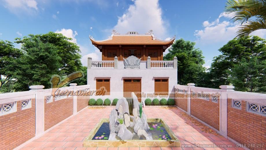 Thiết kế và thi công nhà thờ họ Lê tại Thanh Hóa