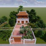 Tổng hợp 10 mẫu thiết kế nhà thờ họ 2 tầng đẹp nhất hiện nay