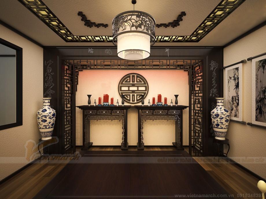 Những mẫu nội thất phòng thờ hiện đại